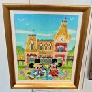 Disney WonderGround Gallery Meet You At Main Street LE Giclee by Joey Chou New