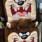 "Six Flags Magic Mountain Looney Tunes Tasmanian Devil ""Taz"" Cube Plush New"