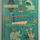 Disney WonderGround Adventureland Original Canvas Print SIGNED by Ben Burch New