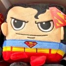 Six Flags Magic Mountain DC Comics Superman Cube Plush New