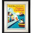 Disney WonderGround Yo Ho, Set Sail Pirates of The Caribbean Giclee Dave Perillo