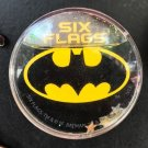 Six Flags Magic Mountain Dc Comics Batman Shield Globe Magnet New
