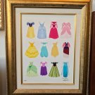 Disney WonderGround Dressed in Dreams LE Framed Giclee by Ann Shen New