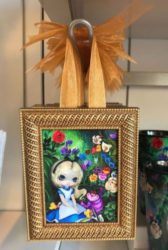Disney WonderGround Alice in The Garden Mini Frame Jasmine Becket-Griffith New