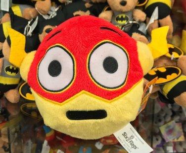 Six Flags Magic Mountain DC Comics Emoji Flash Mini Plush New
