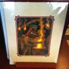 "Disney Parks Enchanted Tiki Room ""Thunder"" Deluxe Print By Craig Fraser New"