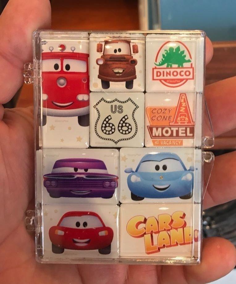 Disney WonderGround Cars Cutest Little Town Magnet Set by Jerrod Maruyama New