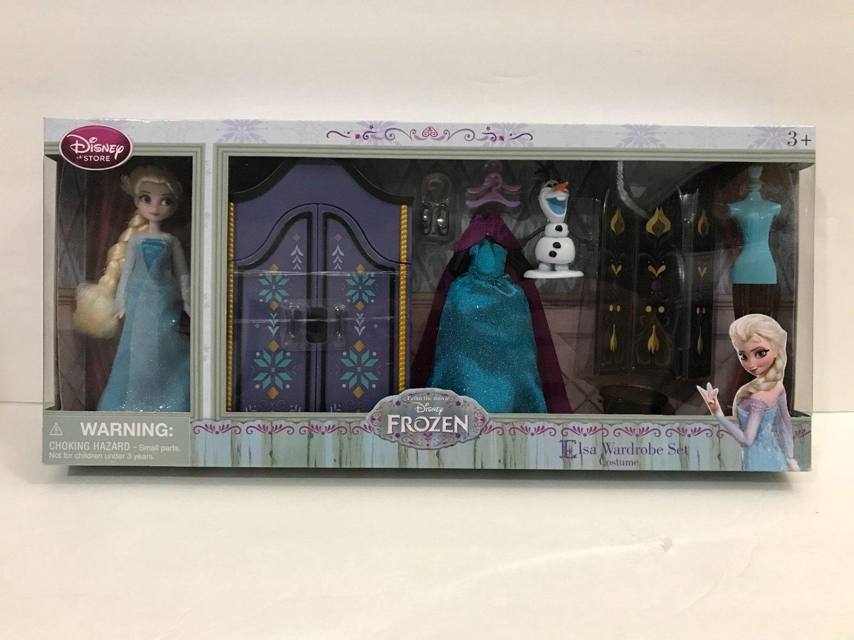 Disney Parks Elsa Mini Doll Wardrobe Play Set New in Box