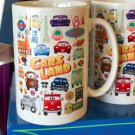 Disney WonderGround Cars Cutest Little County Ceramic Mug Jerrod Maruyama New