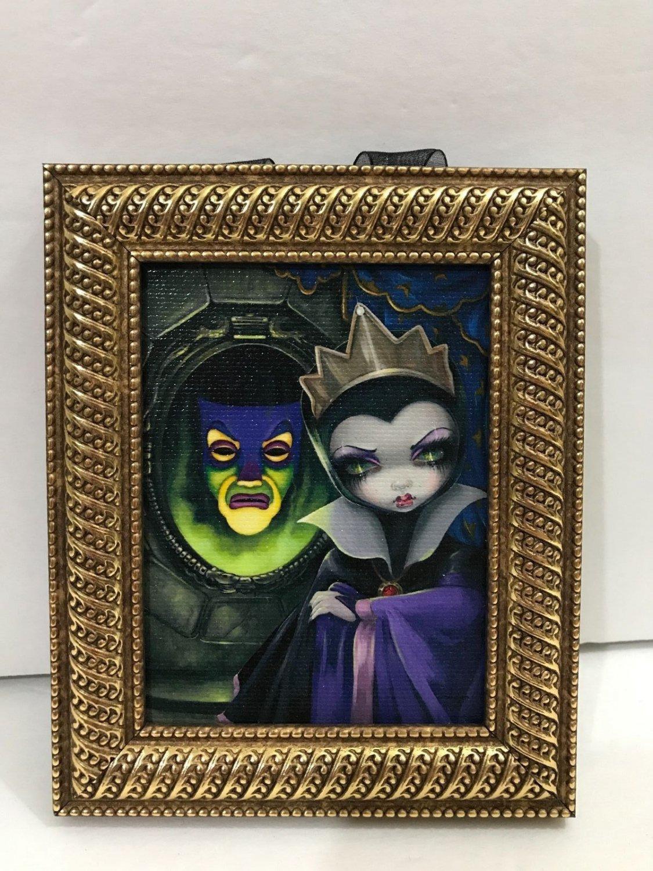 Disney WonderGround Snow White's Evil Queen Mini Frame Jasmine Becket-Griffith