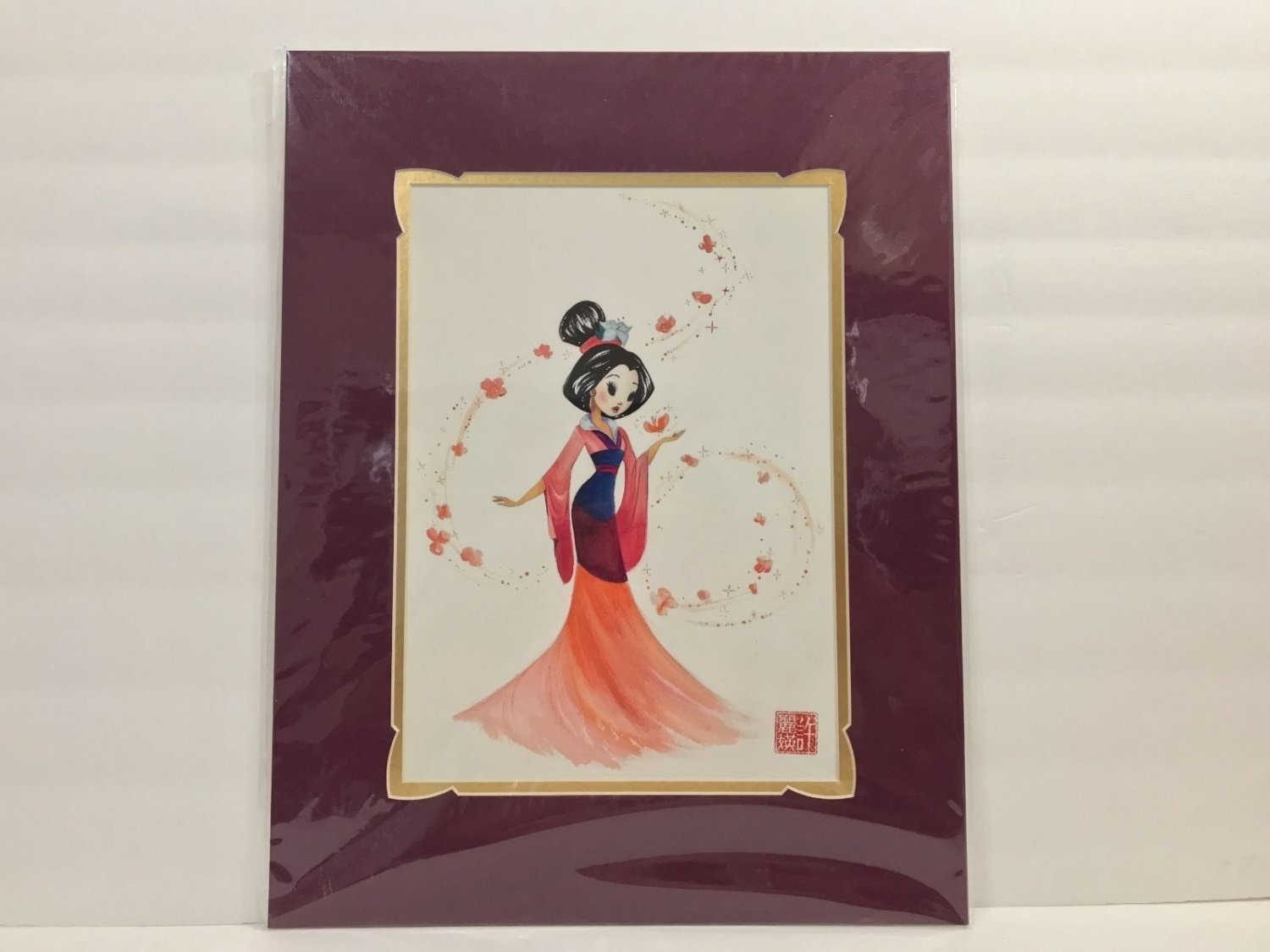 Disney WonderGround Mulan Greatest Gift and Honor Deluxe Print by Liana Hee New
