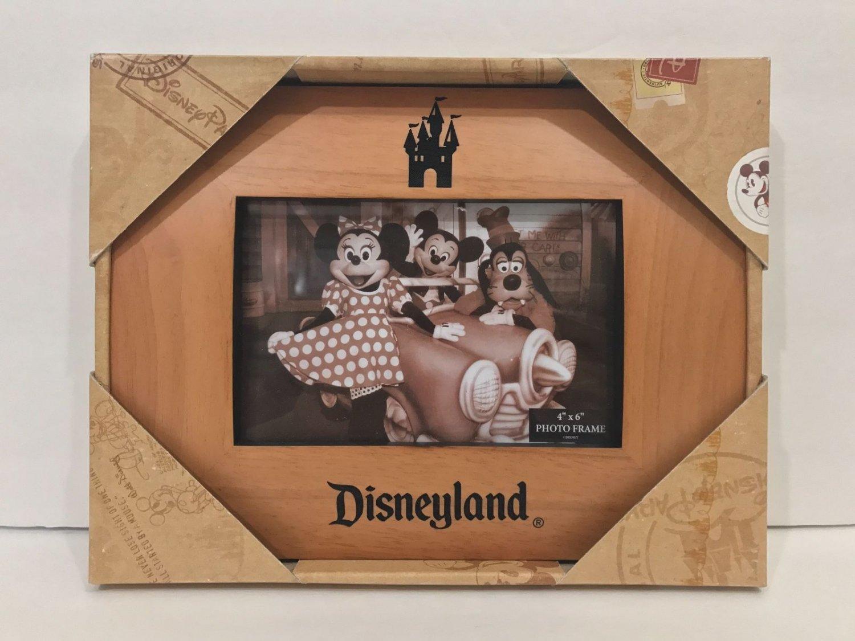 Disney Parks Disneyland Resort Castle Photo Wood Frame New