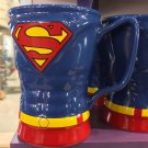 Six Flags Magic Mountain Dc Comics Superman Uniform Ceramic Mug New