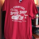 DISNEY PARKS DCA CARS LAND CUSTOM SPEED SHOP RADIATOR SPRINGS MENS SHIRT NEW