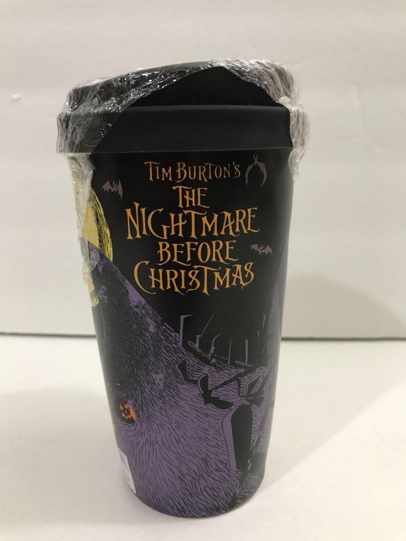 disney parks ceramic tumbler nightmare before christmas jack skellington new
