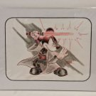 Disney Parks Star Wars Jedi Master Mickey Mouse Artist Signed Sketch Matted Art