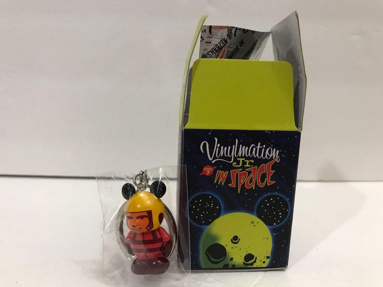 Disney Park Vinylmation Series 7 Junior Jr Space Spaceman Keychain New