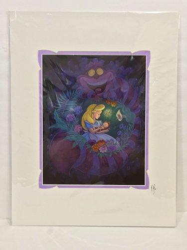 Disney WonderGround Alice in Slumberland Deluxe Print Signed by Martin Hsu New