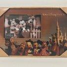 Disney Parks Walt Disney World  Resort Mickey and Friends Wood Frame New