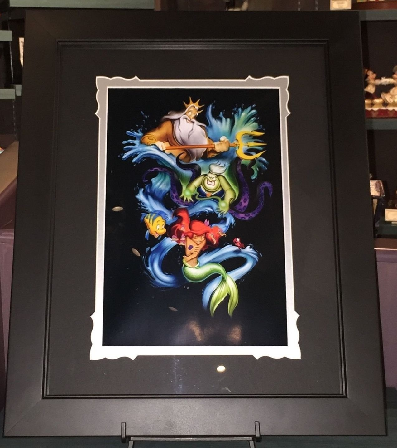 Disney Parks Exclusive Little Mermaid Ariel's Innocence Deluxe Print by Noah New