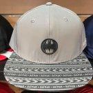 Six Flags Magic Mountain Dc Comics Batman Signal Adjustable Snapback Hat New