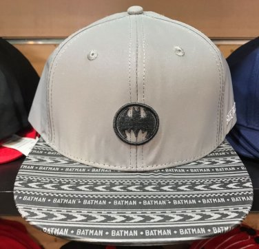 Six Flags Magic Mountain Dc Comics Batman Signal Adjustable Snapback Hat New