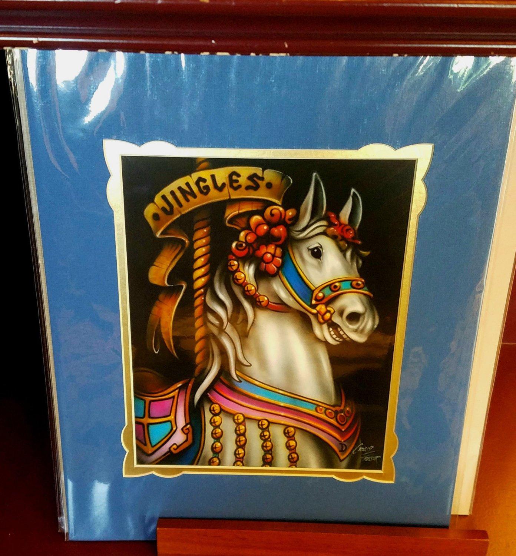 Disney Parks Jingles King Arthur's Deluxe Print By Craig Fraser New