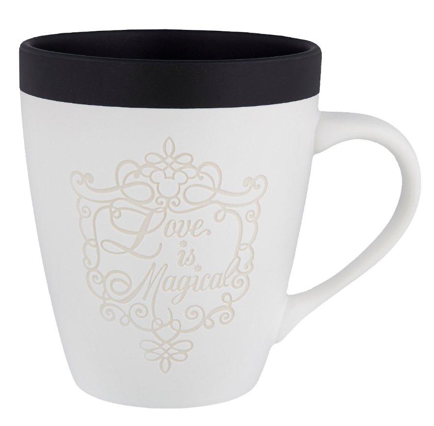 Disney Parks Love is Magical 2017 Wedding Bride Ceramic Mug Cup New