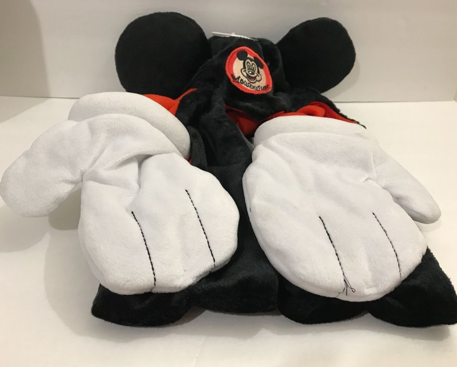 Disney Parks Cosplay Mickey Mouse Hat Ears with Mittens Gloves New