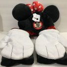 Disney Parks Cosplay Minnie Mouse Hat Ears with Mittens Gloves New