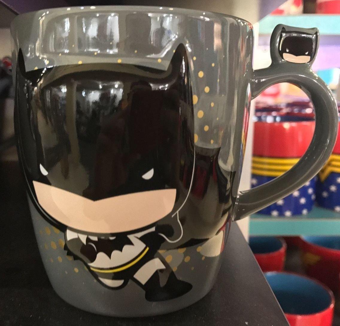 Six Flags Magic Mountain Dc Comics Batman Cuties Chibi Ceramic Mug New