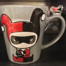 Six Flags Magic Mountain Dc Comics Harley Quinn Cuties Chibi Ceramic Mug New