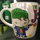 Six Flags Magic Mountain Dc Comics The Joker Cuties Chibi Ceramic Mug New