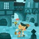 Disney WonderGround PINOCCHIO Postcard by Ben Burch New