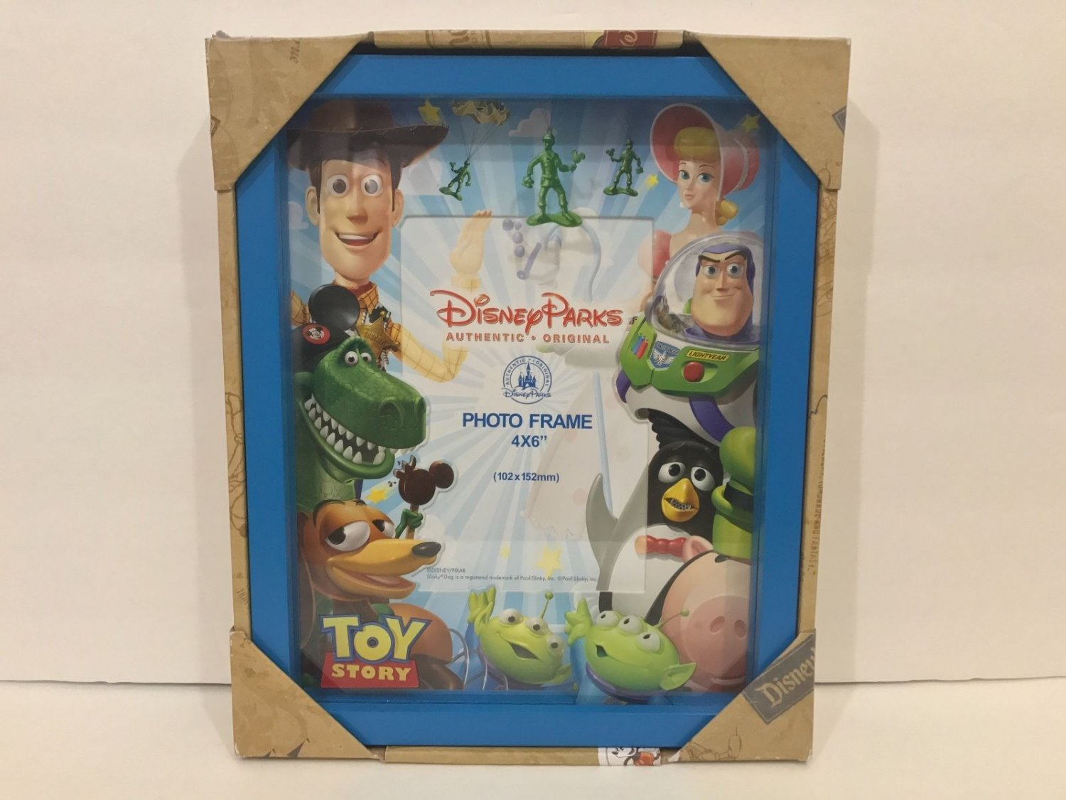 Disney Parks Disney Pixar Toy Story Shadow Box Photo Frame New