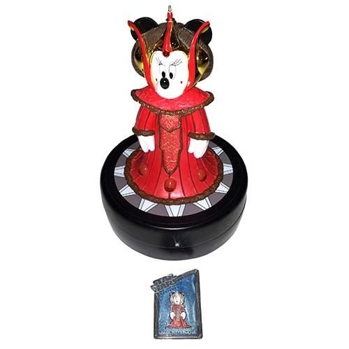 WALT DISNEY WORLD STAR WARS WEEKENDS MINNIE MOUSE AS QUEEN AMIDALA FIGURINE NEW