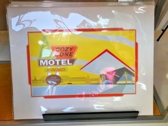 Disney WonderGround Cars Cozy Cone Arrival Deluxe Print by Micheal Murphy New