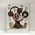 Disney WonderGround Mickey Mouse in The Groove Postcard by Matt Hawkins New