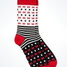 Disney Parks Minnie Mouse Dots and Bows Adult Socks New with Tags