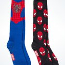 Disney Parks Marvel Spider Man Adult Socks New with Tags ( 2Pack)