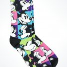 Disney Parks Mickey Mouse Faces Adult Socks New with Tags
