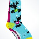 Disney Parks Icon Mickey Mouse Pizazz Adult Socks New with Tags