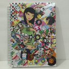 TOKIDOKI Authentic Notebook Notepad Journal Diary Blank Pages Book Planner New