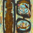 Disney WonderGround Gallery Enchanted Tiki Room Magnet by Michelle Bickford New