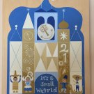 Disney WonderGround It's A Small World Original Artwork Acrylic On Wood New