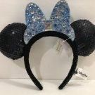 Disneyland 60th Diamond Celebration Minnie Mouse Ear Headband New