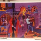 Disney WonderGround D23 Expo Scoundrels And Skeletons (Left) Postcard by Shag
