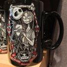 Disney Parks Nightmare Before Christmas Jack and Sally Embrace Ceramic Mug New