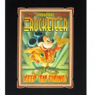 Disney Parks Mickey Mouse Rocketeer Deluxe Print by Mike Peraza New & Sealed