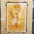 Disney D23 Exclusive Enchanted Tiki Room Jose Print By Brian Kesinger
